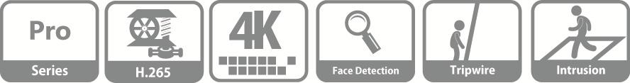 DHI-NVR5432-4KS2 IP видеорегистратор Dahua