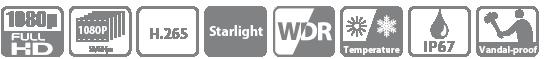 Tính năng, thông số camera HDBW4231EP-AS