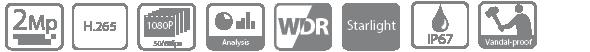 Tính năng, thông số camera HDBW8231EP-Z