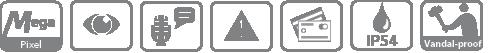 DHI-VTO1210C-X IP вызывная панель Dahua