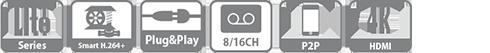 Tính năng, thông số đầu ghi XVR5216AN-4KL