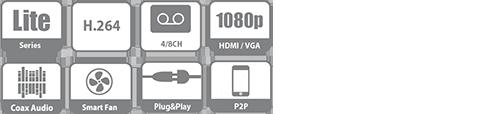 Tính năng, thông số đầu ghi XVR4108C-S2