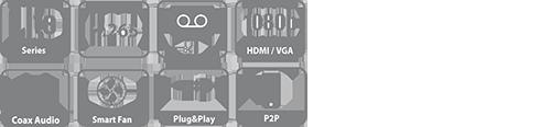 DH-XVR5108C-X XVR видеорегистратор Dahua