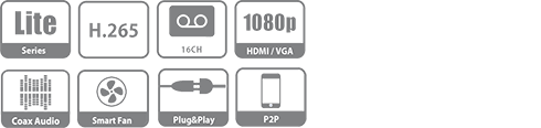 DH-XVR5216AN-X XVR видеорегистратор Dahua