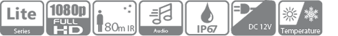 Tính năng, thông số kỹ thuật camera HDCVI 2MP Dahua HAC-HFW1200TLP-A-S4