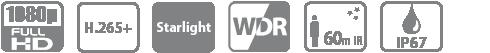 Tính năng, thông số camera HFW2231RP-ZS-IRE6