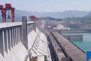 China three gorges power plant