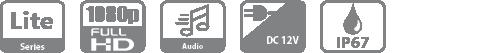 DH-HAC-HDW1239TLP-LED-0360B HDCVI видеокамера Dahua