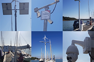 Thefts from Boats Prompt New Surveillance System for Yarmouth Harbour from Dahua Technology