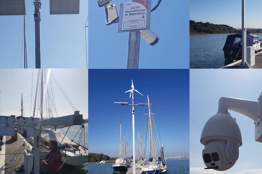 Из-за краж с лодок в гавани Ярмут была установлена новая система видеонаблюдения от Dahua Technology