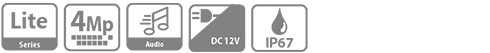 DH-HAC-HDW1409TLP-A-LED-0360B HDCVI видеокамера Dahua