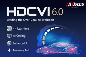 Dahua HDCVI 6.0 Boasts 4K Real-time & Advanced AI Capabilities