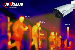 Dahua Body Temperature Monitoring Solution Supports Epidemic Prevention and Control