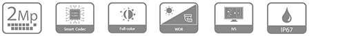 DH-IPC-HDW2239TP-AS-LED-0360B IP видеокамера Dahua