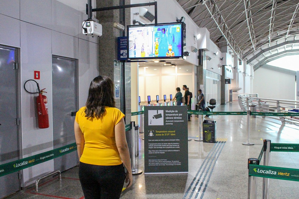 Fortaleza Airport recebe câmeras térmicas da Dahua para auxiliar no combate ao coronavírus