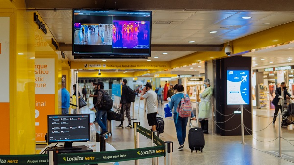 Aeroportos brasileiros adotam câmeras térmicas como aliadas no combate ao coronavírus
