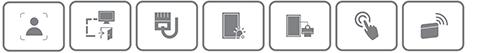 AI контроллер доступа DAHUA DHI-ASI6214J-MFW