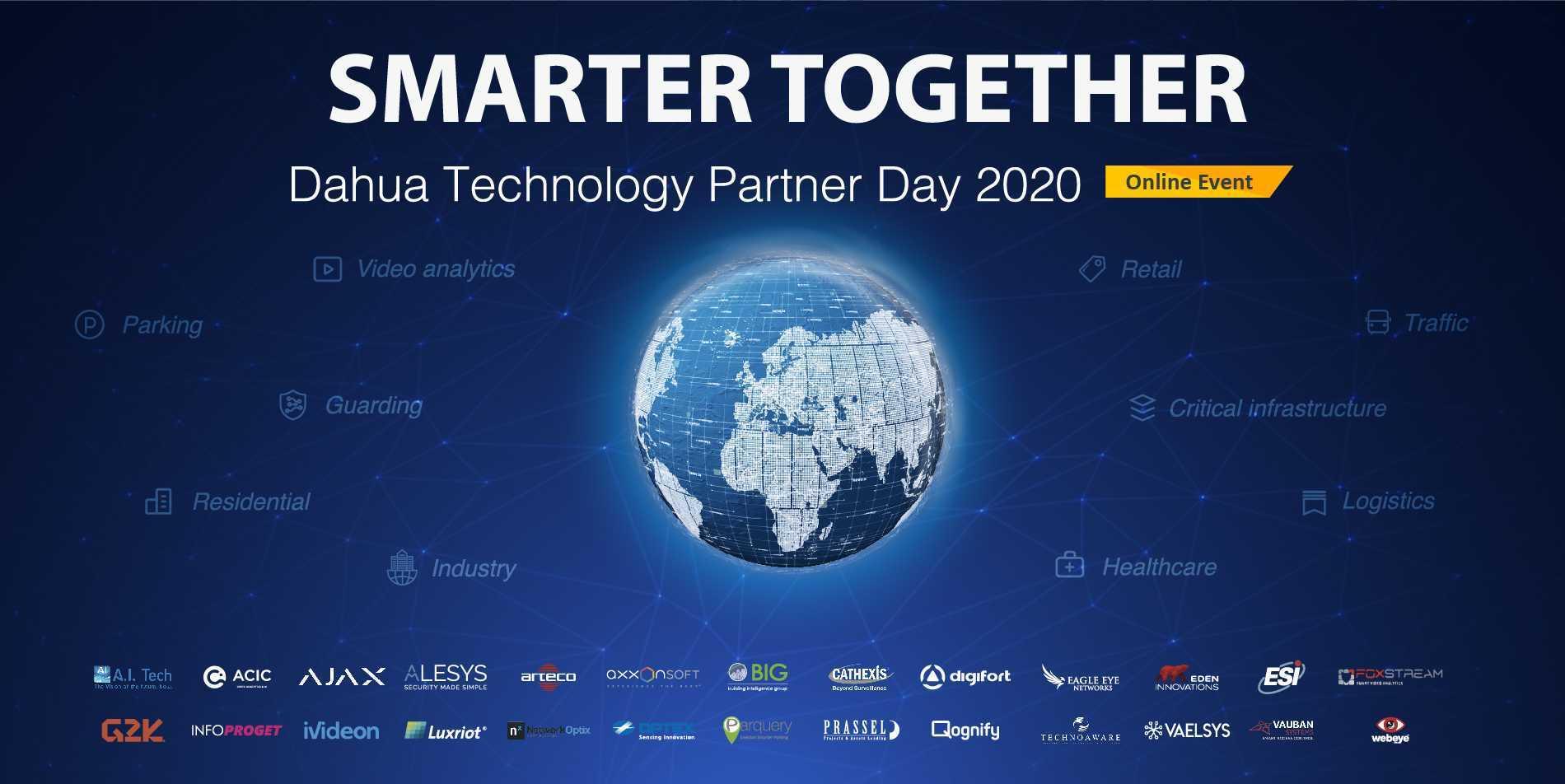 Dahua Technology veranstaltet Online-Partnertag 2020 mit 26 Technologiepartnern