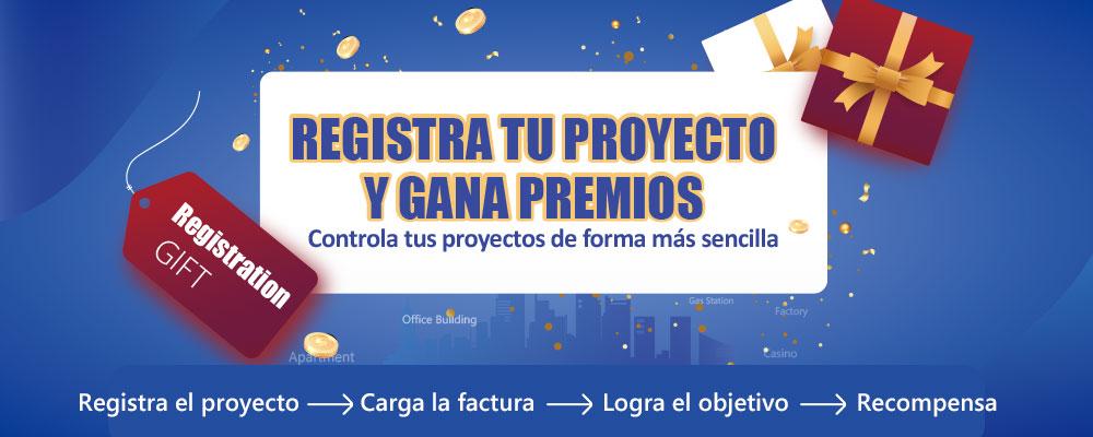 Registra tu proyecto y gana premios