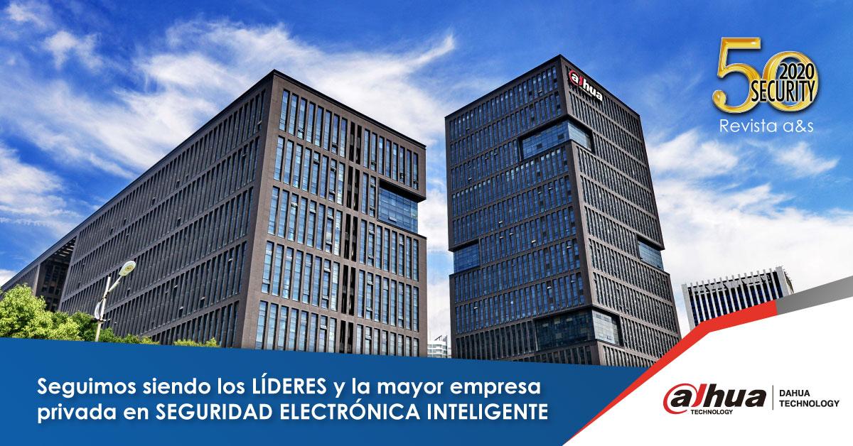 Dahua Technology se mantiene como líder en seguridad electrónica inteligente