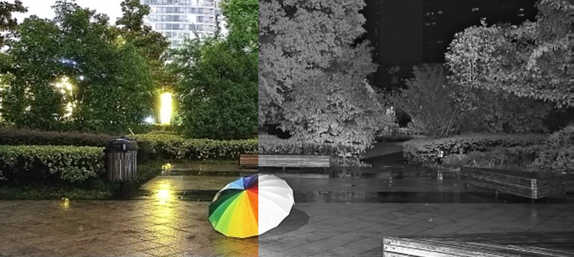 Mit der Dahua KI-Full-Color-Lösung wird die Nacht so farbenfroh wie der Tag
