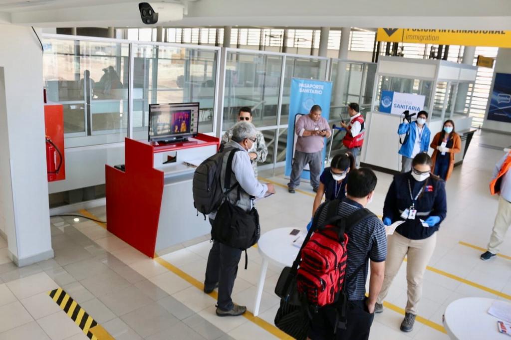 Se instalan cámaras térmicas en Iquique, Chile