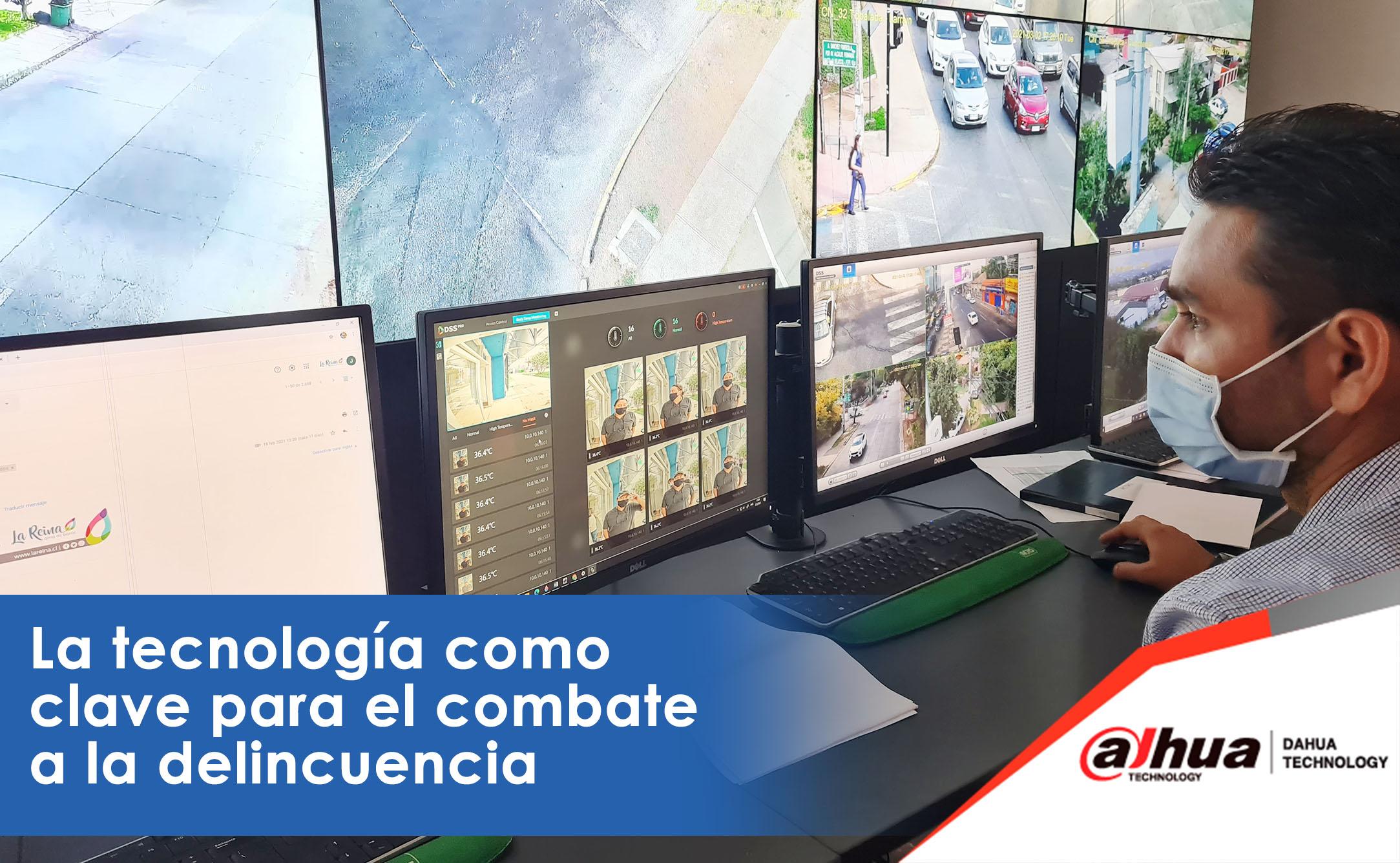Municipalidad de La Reina, en Chile, recibe donación de solución de videovigilancia de última generación.