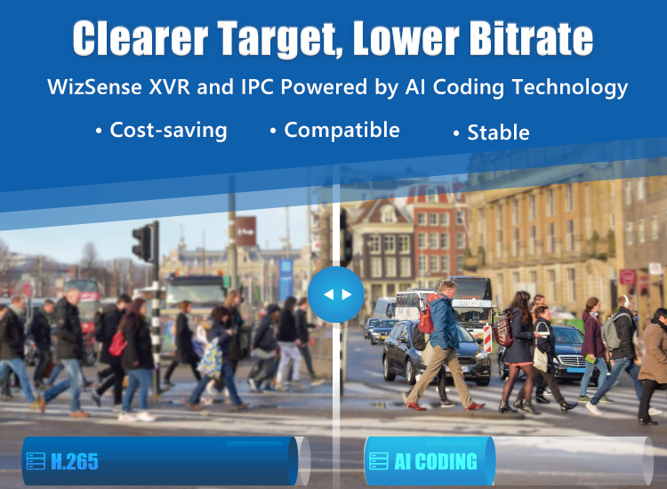 Clearer Target, Lower Bitrate