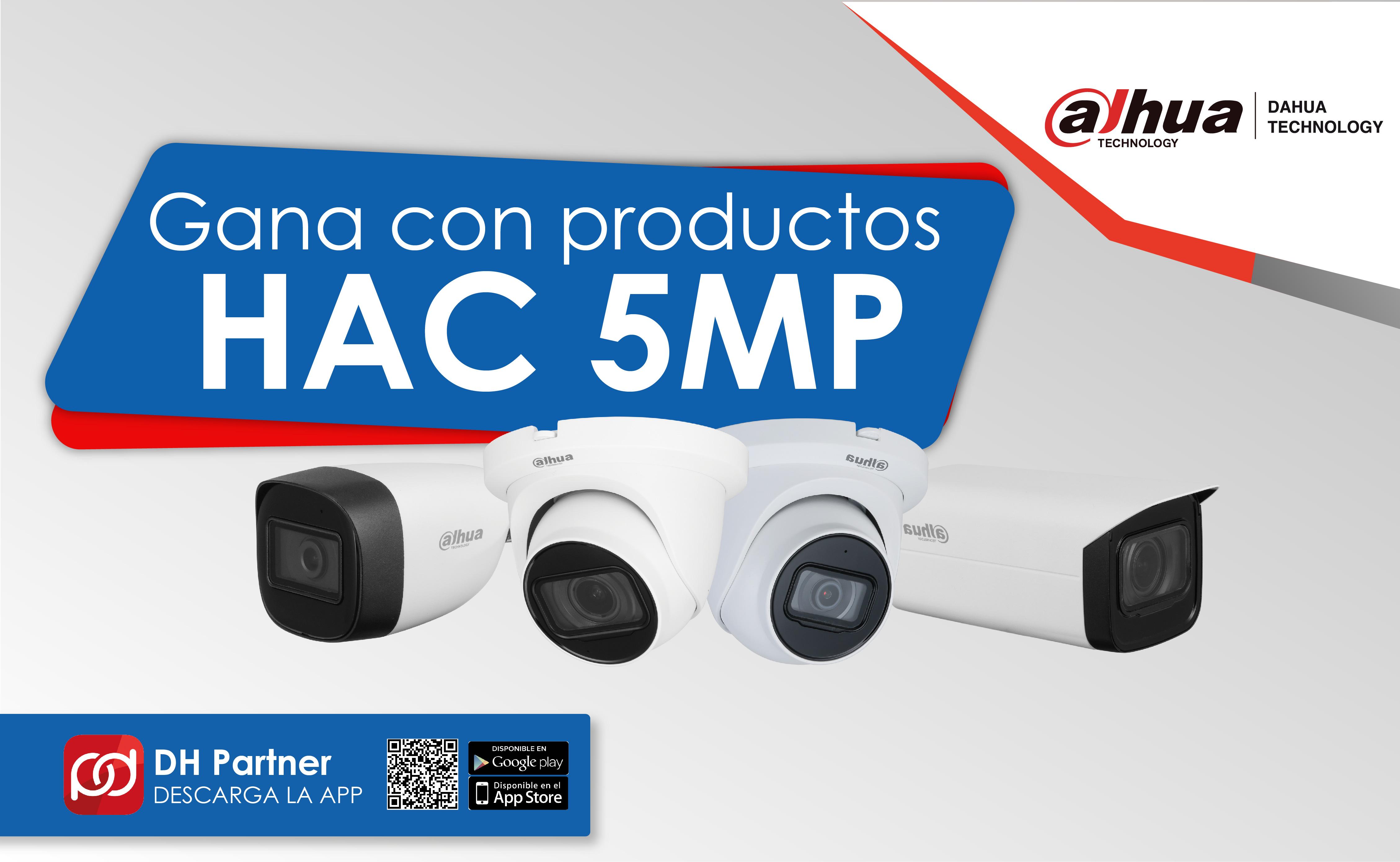 Gana con productos HAC 5MP
