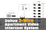 Dahua 2-Wire Apartment Video Intercom System