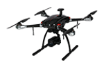 Die Drohne X820 von Dahua garantiert die öffentliche Sicherheit