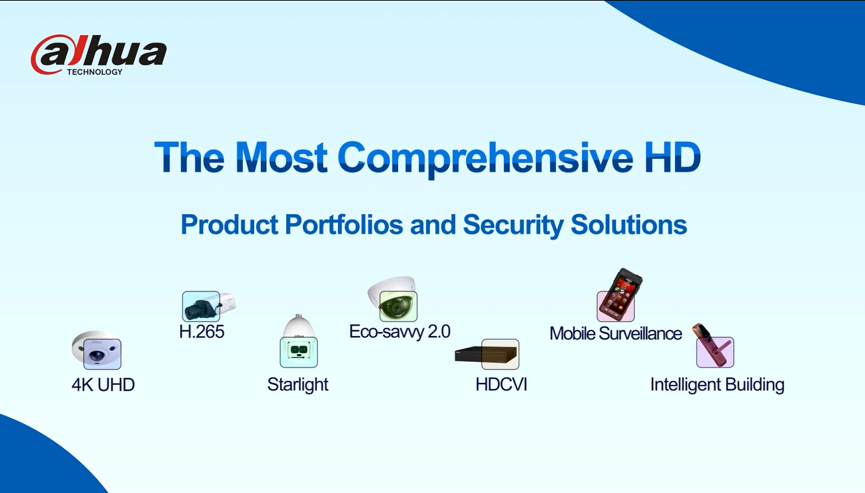 The Most Comprehensive HD Product Portfolios and Security Solutions