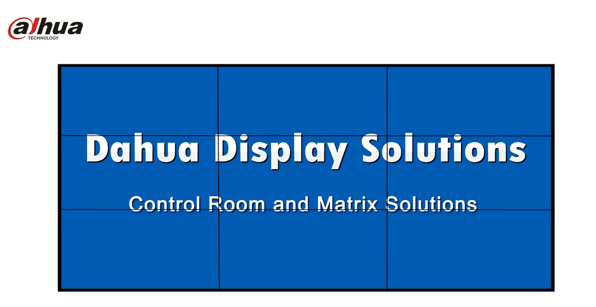 Dahua Display Solutions