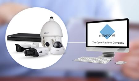 Dahua gama completa de cámara de red y HCVR integra con Milestone XProtect VMS