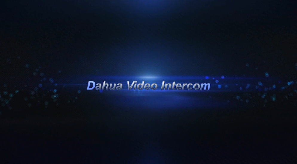 Dahua Video Intercom