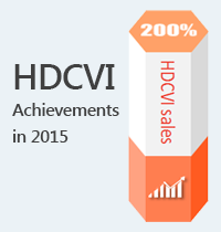HDCVI Achievements in 2015