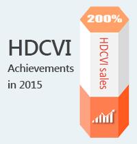 HDCVI Achievements in 2015