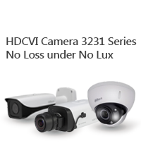 HDCVI Camera 3231 Series No Loss under No Lux