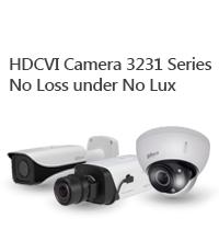 HDCVI Camera 3231 Series No Loss under No Lux