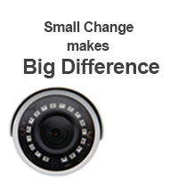Small Change makes Big Difference