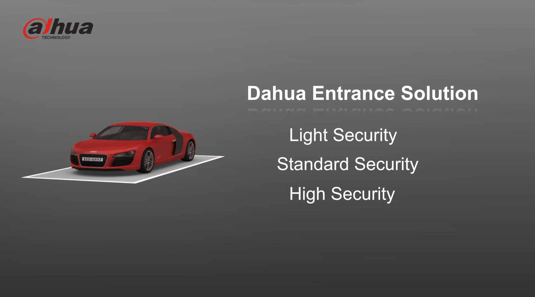 Dahua Entrance & Exit Control For Vehicles