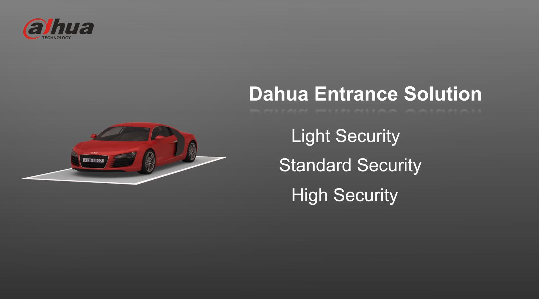 Dahua Entrance & Exit Control For Vehicles