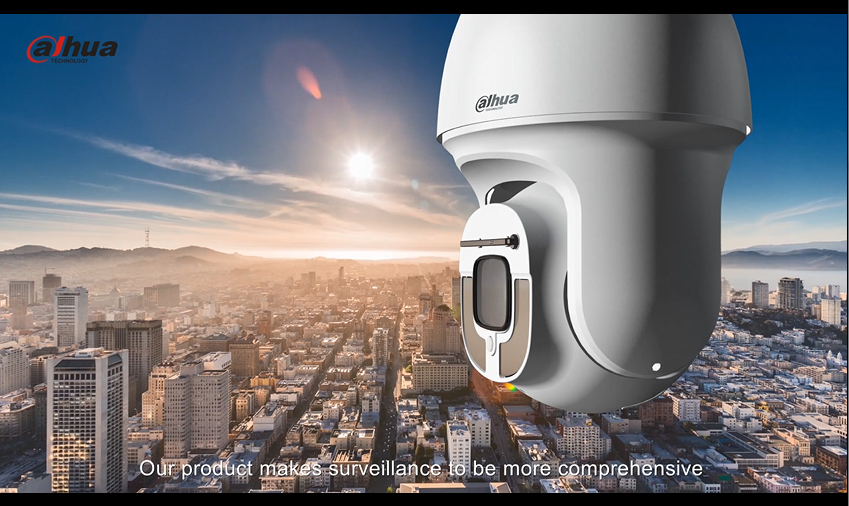DAHUA Starlight IR PTZ Network Camera