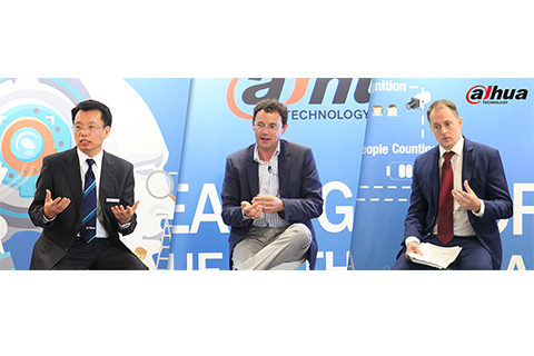 Dahua Technology discusses GDPR and Cybersecurity with Industry Leaders at IFSEC