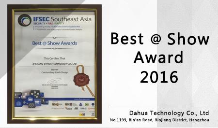 Best @ Show Award 2016