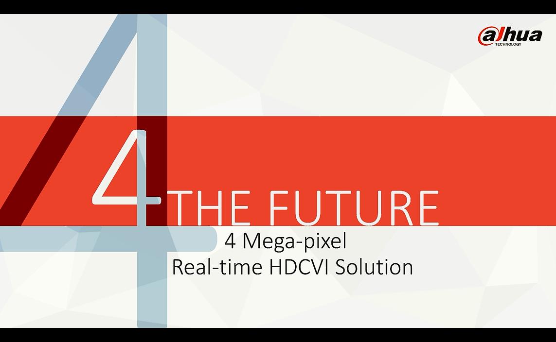 Dahua HDCVI 4MP Solution Product Release