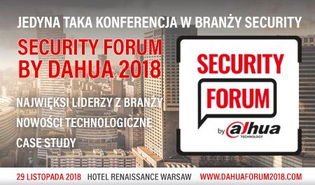 Security Forum by Dahua 2018 - jedyne tego typu wydarzenie w Europie!
