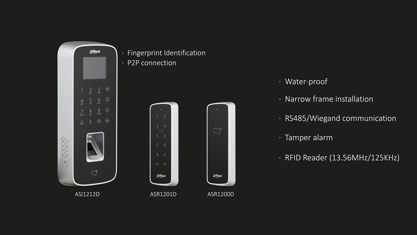 Dahua Water-proof Access Standalone & Reader