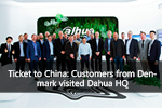 Ticket to China: Customers from Denmark visited Dahua HQ