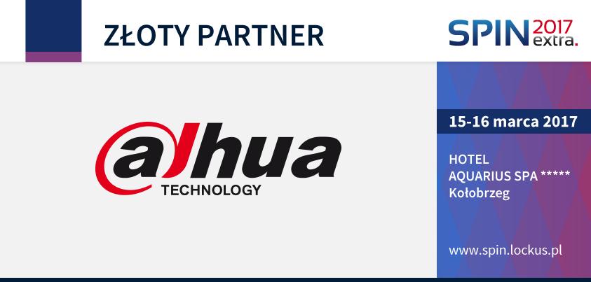 Dahua Technologu Złotym Partnerem na SPIN extra 2017